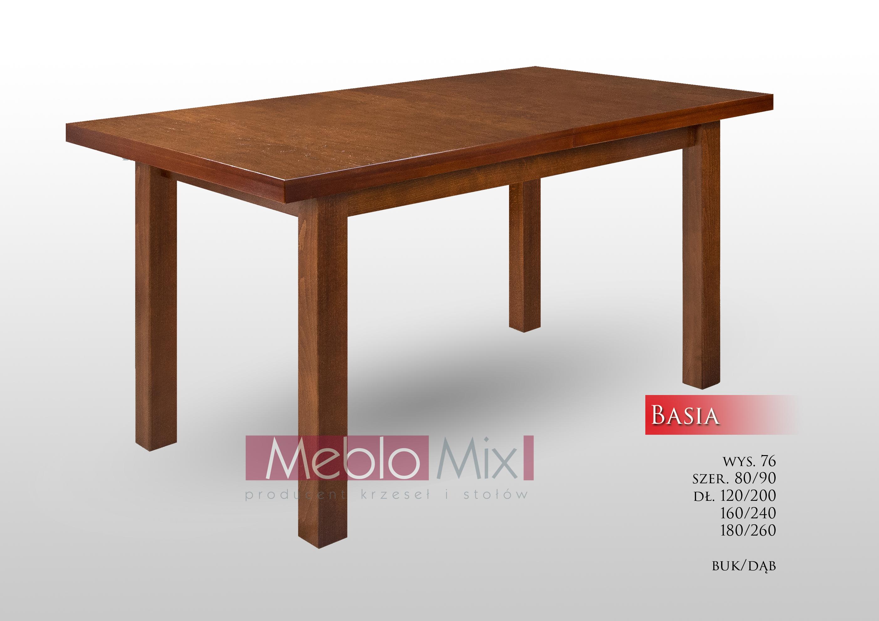 Stół Basia