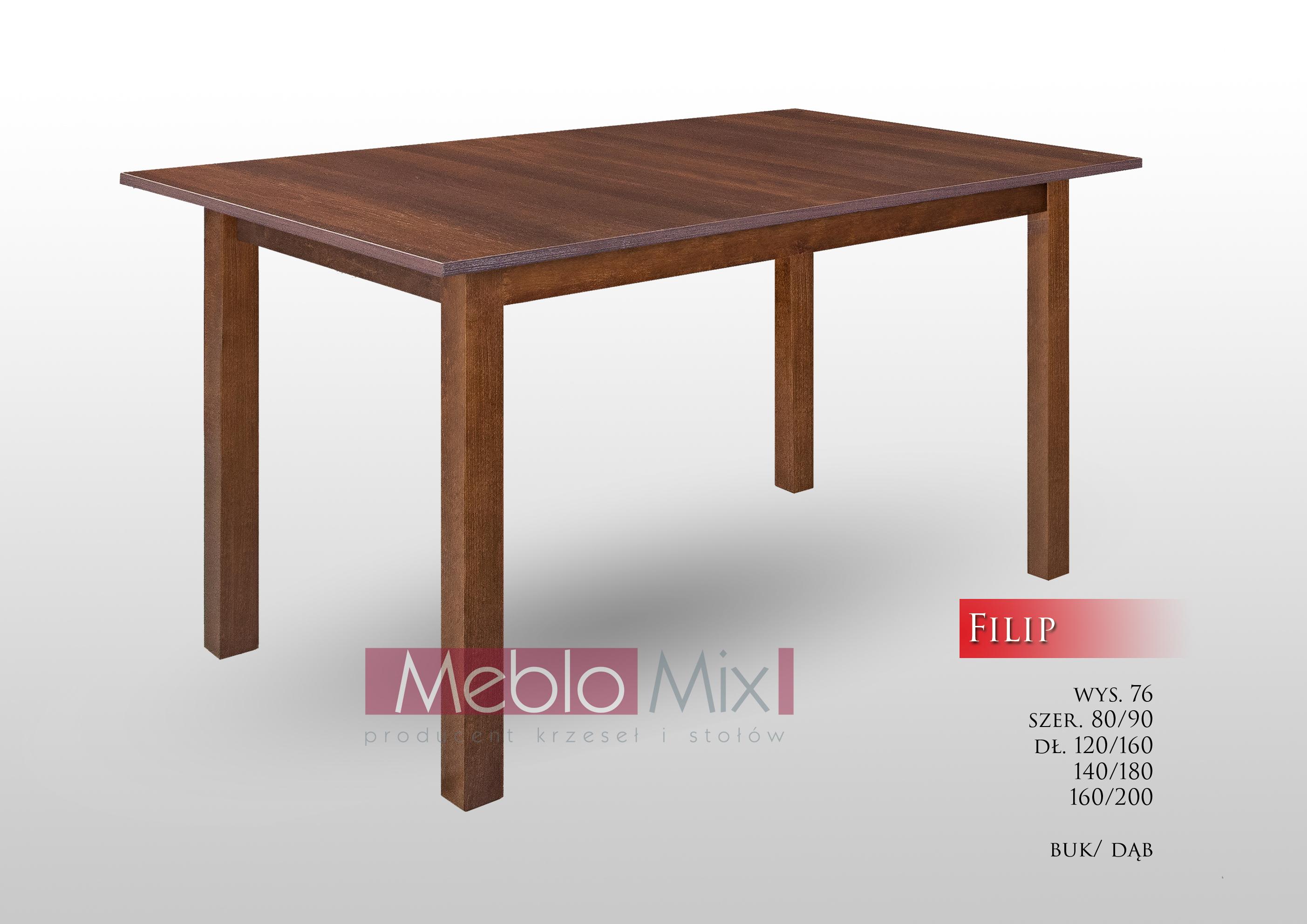 Stół FIlip